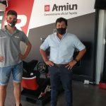Reutemann junto a Martin Fruttero de Amiun S.A.